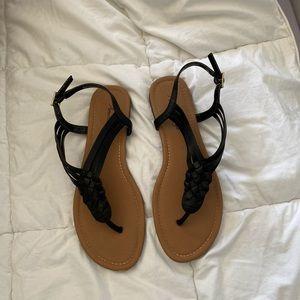 American Eagle Black Sandals - Size 7.5